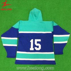 Customized New Fashion Colorful Oversized Ice Hockey Jerseys Garments