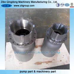 Centrifugal Submersible Pump Sand Casting Part in Cast Iron with Painted/Rough/Enamelled