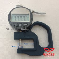 0-12.7mm Resolution 0.001mm Depth 30mm High Precision Electronic Digital Micron Thickness Gauge