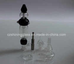 Delicate Oil Smoking Pipe Nectar Collector Set by Cangzhou Shining Glass by Shining Glass