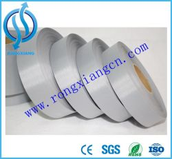 High Silver Color Reflective Band Tape Fabric for Safety Vest Safety Clothes