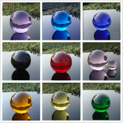 Crystal Crafts Glass Ball for Home Decoration and Photography Photo with Various Dimensions