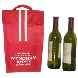 Wholesale Wine Bottle Insulated Thermal Lunch Cooler Bag