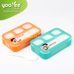 561185cc4 Hot Selling Plastic Lunch Box Leakproof for School Kids