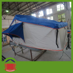 C&ing Car Outdoor Soft Canvas Roof Top Tent & China Outdoor Car Camping Canvas Tent Outdoor Car Camping Canvas ...