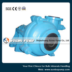 Single Stage Impeller Horizontal Centrifugal Slurry Pump 75HS
