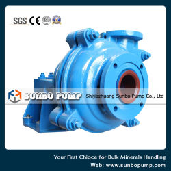 Centrifugal Single Stage Impeller Type Abrasion Resistant Slurry Pump
