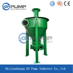 Mineral Processing Flotation Area Heavy Duty Vertical Froth Pump