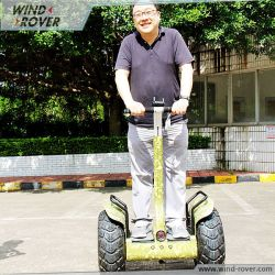 2 Wheel Scooter Mini Transporter Wind Rover V4+ Self Balance Electric Transporter