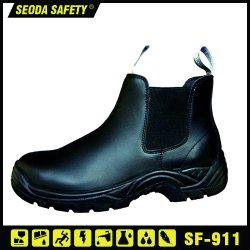 Women/Men Sport Steel Toe Cap Safety Leather Work Shoes