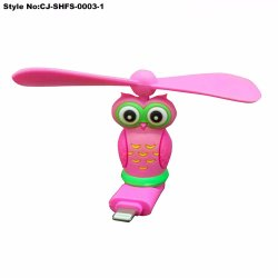New Design Plastic Toy Mini Electric Rechargeable Air Cooler Fan