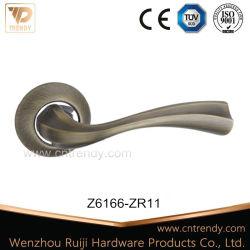 Front&Back Furniture Hardware Zinc Handle Lock for Interior Door (z6180-zr09)