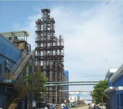High Efficient Column Packed Absorption Tower for Exhaust Gas Recovery Treatment Project