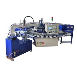 Sock Silicone Patch Dots Screen Printing Machine