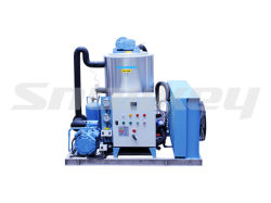 5t/D Fluid Slurry Ice Machine for Seafood Immediate Cooling