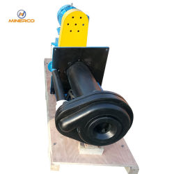 Rubber Liner Vertical Slurry Sump Pump with Motor