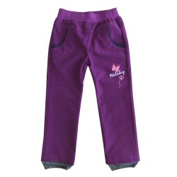 Kids Waterproof Pants with Embroidery Sport Clothes Casual Clothing