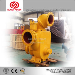14inch Self Priming Sewage Pump Driven by Diesel Engine for Flood Drainage