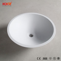 Small Size Sanitary Ware Solid Surface Bathroom Wash Sink
