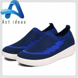 51b1e8f12f4 Wholesale Stock Small Order Breathable Shoes Mesh Gym Casual Shoes Lady  Shoes Fly Knit Shoes