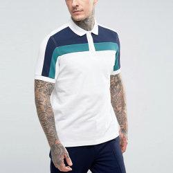 Men Clothing Color Block Sports Short Sleeve Golf Polo Shirt
