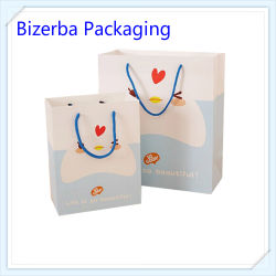 Promotional Paper Gift Bag with Rope Srting