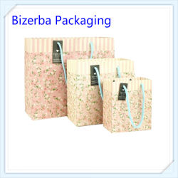 Printed Cosmetic Paper Gift Bags