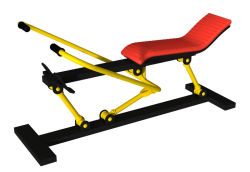 Double Exercise Machine Sports Equipment for Fitness Equipment (HD-12302)