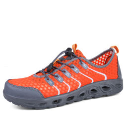 Water Shoes with Net Surface Quality Breathable Athletic Sport Lightweight for Walking Beach Shoes Esg10367