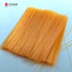 High Quality Pumpkin Colors PBT Solid Tapered Artificial False Eyelash Filament