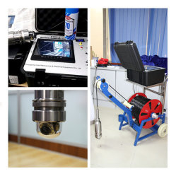 Deep Water Borehole Inspection System Video Camera Inspection Underground Camera Water CCTV Borewell Price
