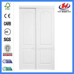 HDF/MDF Molded Cloth Wooden Sliding Door (JHK-S02)