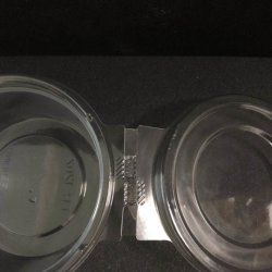 High Quality Large Round Plastic Salad Bowl