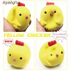 Tailand Wholesale Teenage Soft Creamy Chicken Baby Slow Rising Squishy