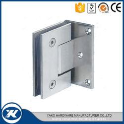 Stainless Steel Door Clamp Pivot Bathroom Glass Door Shower Hinge