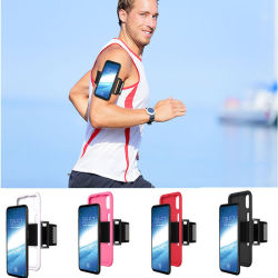 Shockproof Running Sports Arm Band Phone Cases Covers Shell for iPhone X