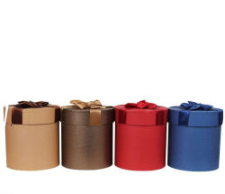 Cylinder Round Gift Box/Packing Box Factory