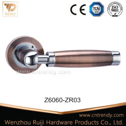 Aluminum Lever Handle Door Lock with Keys and Cylinder (Z6053-ZR05)
