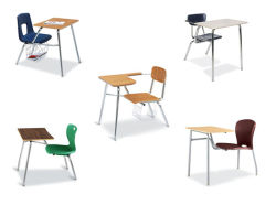 Wholesale Classroom Students Single Desk with Chair