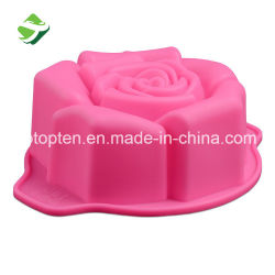 Wholesale Baking Rose Silicone Cake Mold