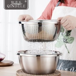 Factory Price Multifunction Stainless Steel Fruit Dish for Home