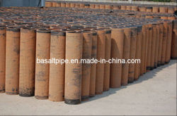 Cast Basalt Pipes