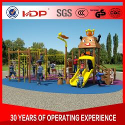 New Design Outdoor Wooden Playground Equipment Used for Preschool