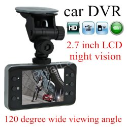 Best Price 4.4USD/PCS with Accessories 720p HD Dash Camera 2.7inch Screen with Night Vision Black Box for Car Support 32g Memory Card Video /Sound Pic Recorder