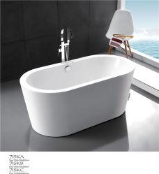 Cheap Bathroom Clear Acrylic Freestanding Soaking Bathtub