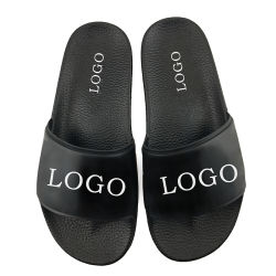 b99fe2972b02 Fashion PVC Sliders Slippers for Men Custom Logo