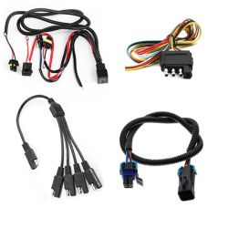 20 Pin VW Three-Color DVD Aux Plug to 4 RCA Female Audio & Video Adapter Cable
