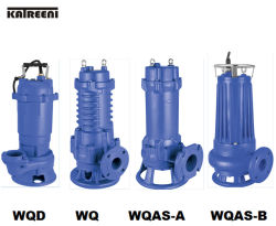 Wqd Series Submersible Sewage Electrical Slurry Water Pump