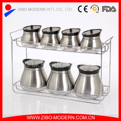 Wholesale Round Glass Spice Jar with Metal Lid