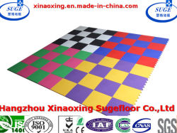 Non Toxic Multi Use Interlocking Dancing Room Sport Flooring
